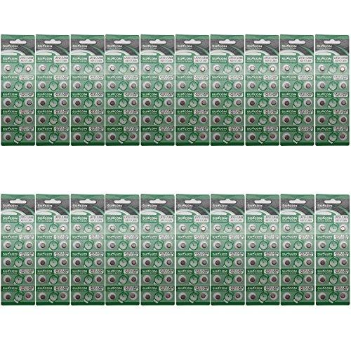 SUNCOM Batterie Single Use Lr721 Lr58 SR720 R58L L721 S12 Uhr Spielzeug-Kameras Fernbedienungen (200...