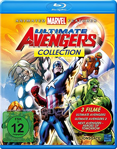 Vitrine Pack (Ultimate Avengers Collection (3 Filme Edition) [Blu-ray])