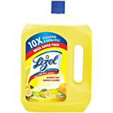 Lizol Disinfectant Surface & Floor Cleaner Liquid, Citrus - 2 L | Kills 99.9% Germs
