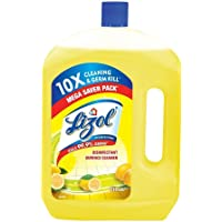 Lizol Disinfectant Surface & Floor Cleaner Liquid, Citrus - 2 L | Kills 99.9% Germs