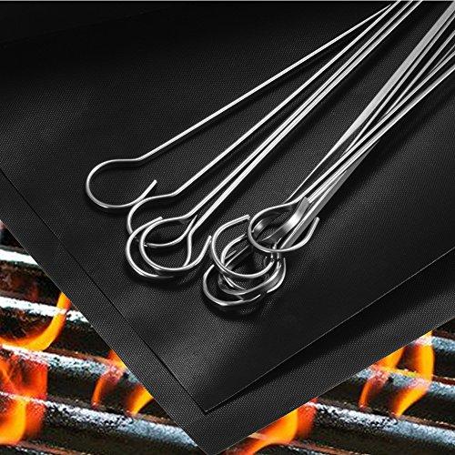 pchero-2pcs-tappetini-da-barbecue-griglia-10pcs-30cm-spiedini-in-acciaio-inox-riutilizzabili-strumen
