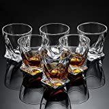 Ecooe 6 x Whiskeygläser Whisky Glas Set Whiskybecher 300ml