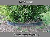 Bambussperre Wurzelsperre in 2 mm - Rhizomsperre 70 cm...