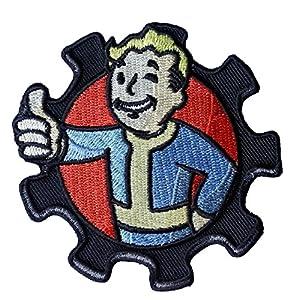 Hook Fastener Fallout P Boy Game Morale Military Tactical Cool Applique Tactique Écusson Brodé Fixation Crochet