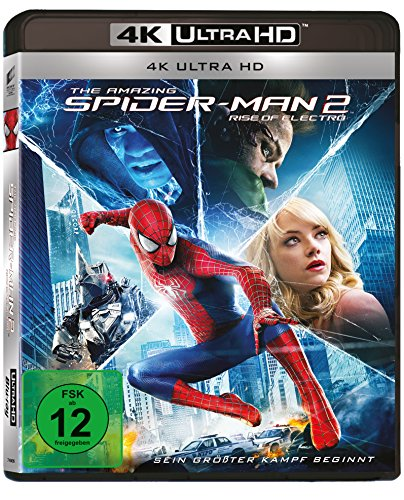 The Amazing Spider-Man 2: Rise of Electro - 4k Ultra HD Blu-ray