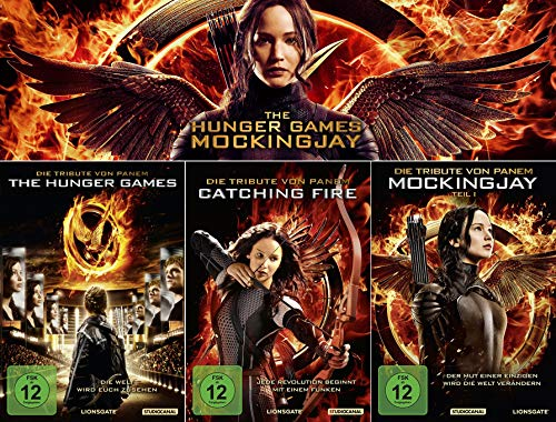 Die Tribute von Panem 1 + 2 + 3 | Hunger Games | Catching Fire | Mockingjay 1 [3-Disc] (Hunger Games Film)