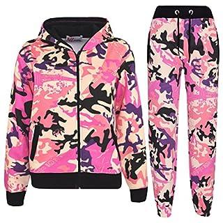 A2Z 4 Kids® Kids Tracksuit Boys Girls Designer's Camouflage Print - T.S A2Z Camo Baby Pink 13