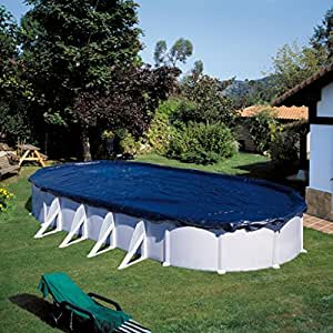 Bâche piscine hiver ovale 810 x 470