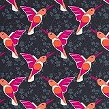 Hummingbird by Bienvenido Colorido French Terry Sweat