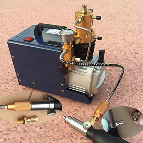30MPa 40MPa 4500psi 6000psi Hohe Druck Luftpumpe Elektro Mini PCP Air Kompressor 220V für Luftgewehr Scuba Gewehr 220V