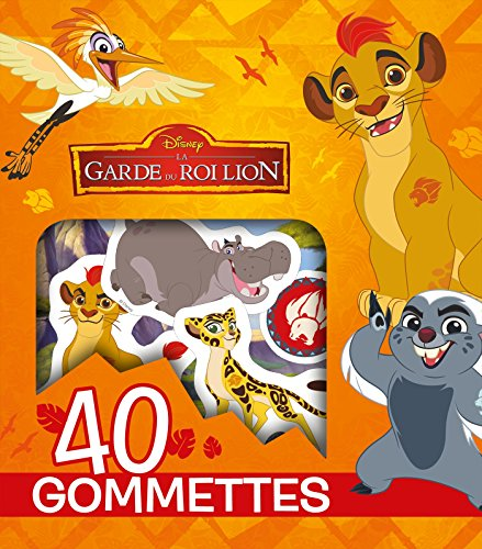 LA GARDE DU ROI LION - Pochette de 40 gommettes par