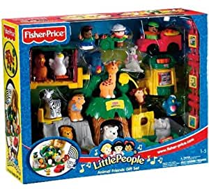 FISHER PRICE Spielset Tierfreunde LITTLE PEOPLE