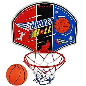 Panier de Basket d'intérieur + 1 balle - A accrocher