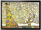1art1 96667 Gustav Klimt - Die Erwartung, 1905-1909 (Detail) Fußmatte Türmatte 70 x 50 cm