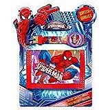 Ultimate SpiderMan, reloj digital y billetera, con licencia oficial, juego de regalo
