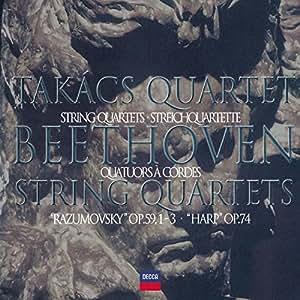 "Beethoven - Quatuors à cordes op.59 ""Razumovsky"" et op.74 ""Harpe"""