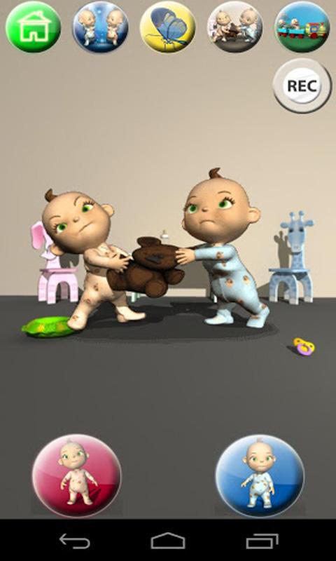 Zoom IMG-3 talking baby twins free