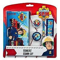Undercover FSTU6471-Fireman Sam, 5Piece Stationery Set