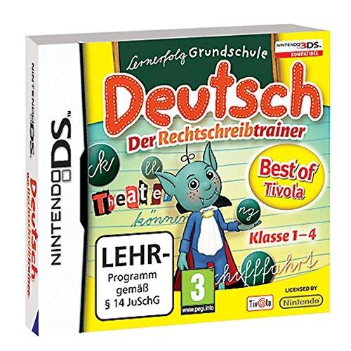 Best of Tivola: Lernerfolg Grundschule Deutsch - der Rechtschreibtrainer - Wort-spiele Nintendo Ds Für