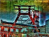 Poster 120 x 90 cm: Zollverein - Industrial Heritage von Nova Art - Hochwertiger Kunstdruck, Kunstposter