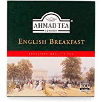 5x Ahmad Tea - English Breakfast - 100 tagged teabags je 200gr