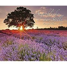 Augenblicke der Stille 2018: Wandkalender groß. Fotokunst-Kalender mit romantischen Aufnahmen von Landschaften. Großformat: 55 x 45,5 cm. Foliendeckblatt.