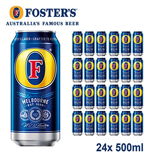 Foster's Lager 24x 500ml - Australien's Famous Beer