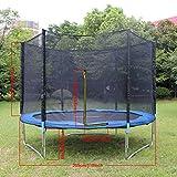 Teamyy 305cm Outdoor Garten Trampolin mit Sicherheitsnetz Ladder Jumper Gymnastic Spaß Übung Rückprall - 9