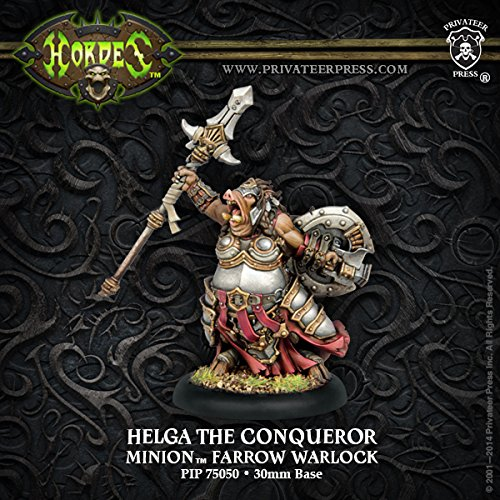 privateer-press-minions-helga-the-conqueror-model-kit