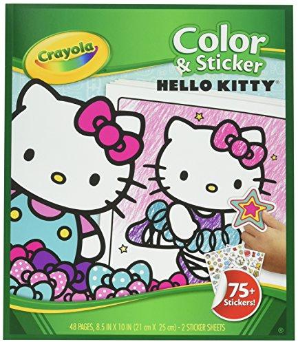 Crayola Farbe & Aufkleber, Hello Kitty (04-0221) (Und Farbe Crayola Aufkleber)