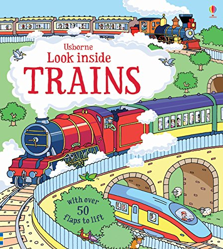 Look Inside Trains Cover Image