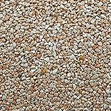 Tappeti di Pietra Naturale Kit Graniglia Sassi da giardino Pavimenti W730 Giallo Siena - 2qm