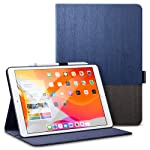 ESR Case for iPad 7th Generation 10.2-Inch, Smart Case with Pencil Holder, Book Cover Design, Multi-Angle Viewing Stand...