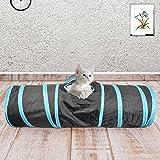 Prosper Pet Cat Tunnel chenci- klappbar 3Wege Play Spielzeug–Tube Fun für Kaninchen, Kätzchen, und Hunde - 8