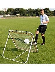Rebounder 100 cm x 100 cm, für Techniktraining, für Teamsportbedarf - Fußballtraining