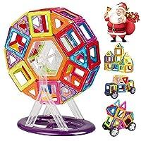 Descrizione del prodotto: INTEY blocchi di costruzione magnetici come giocattoli di design intelligente per i bambini per contribuire a stimolare lo sviluppo del cervello educando durante i blocchi di gioco, un perfetto gioco win-win per i genitor...