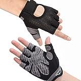 Hually Fitness Handschoenen, Trainings Handschoenen, Antislip Handschoenen Voor Gewichtheffen, Extra Licht en Ademend, Voor B