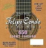 Felipe Conde Strings 650 CLASSIC Guitar Nylon, Low Tension