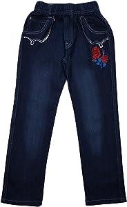 Unbekannt Bequeme Mädchen Jeans, Stretchjeans mit rundum Gummizug, M84