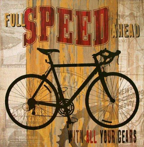 Fertig-Bild - Maria Donovan: Full Speed ahead 30 x 30 cm
