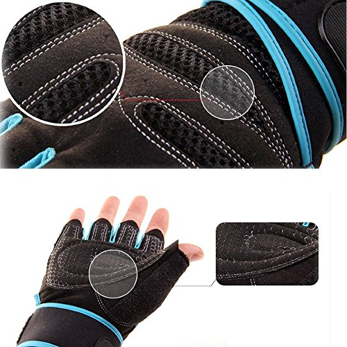 TClian-Men-and-Womens-Training-Fitness-Workout-Wrist-Wrap-Gym-Gloves-Washable-Breathable-Non-slip-For-Weightlifting-Training-Fitness-Gym-CrossFit-Workout-Exercise-Black-M