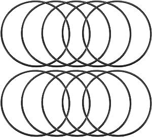 Dichtungsring O Ring Aus Nitrilkautschuk 80 Mm X 85 Mm X 2 5 Mm Schwarz 10 Stück Baumarkt
