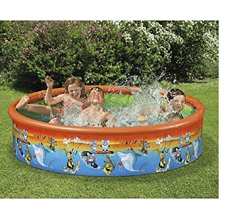 Preisvergleich Produktbild Familienpool Babypool Baby Pool Planschbecken Kinderpool Kinderplanschbecken Schwimmbecken Baby-Pool . Mit Koalabär , Krokodil , Känguru , Hai . Australien . Ideal für den Garten , Terrasse , Urlaub , Camping der ideale Wasserspass und Abkühlung an heissen Tagen ca. 155 cm >Höhe ca. 30 cm Snap-Set Fix-Planschbecken Snap-Pool / Bestellungen von Montags - Freitags bis 14:00 Uhr werden noch am selben Tag versendet / Lieferzeit ca. 1-2 Werktage