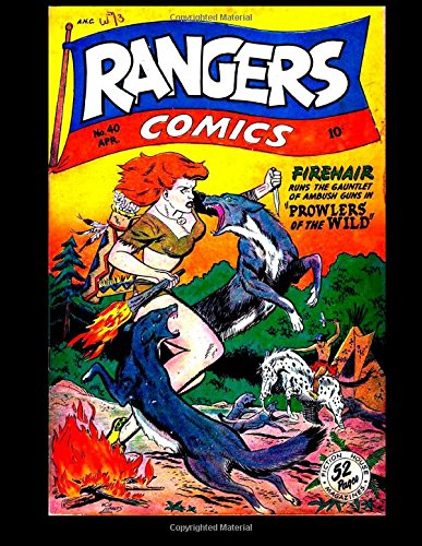 Rangers Comics #40: Golden Age War And Adventure Comic!