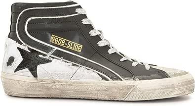 Golden Goose Luxury Fashion Uomo GMF00115F00079490184 Nero Pelle Hi Top Sneakers | Ss21