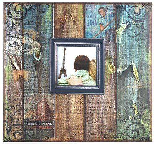MBI Vintage Travel Post Bound Scrapbook mit Fenster 12x 12Zoll