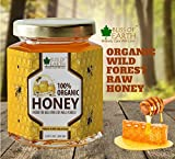#6: Bliss of Earth™ 100% Organic Honey | Fresh, Pure & Delicious Wild Forest Raw Honey | 300GM | Honey As It Should BEE |