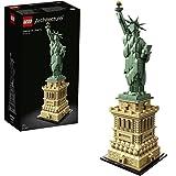 LEGO 21042 Architecture Vrijheidsbeeld Model Bouwset, New York Display en Verzamelmodel voor Volwassenen