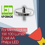 Ampoule LED de rechange MagLite Mini pour lampe torche, lampe de poche Philips LED MagLite Mini 2 piles AA
