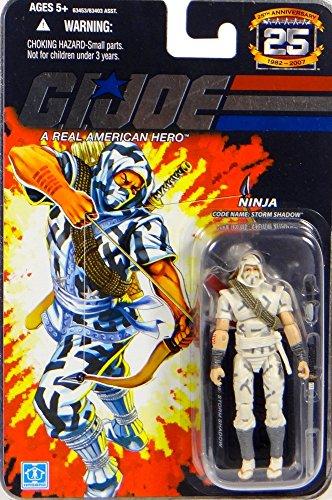G.I. Joe Ninja Codename: Storm Shadow The Cobra Enemy - 25th Anniversary Collection - Actionfigure 2007 von Hasbro